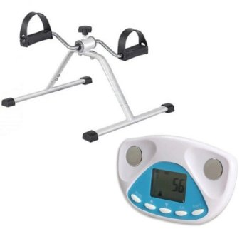 Easy-Exercise Bike and with Digital LCD Body Fat Analyzer