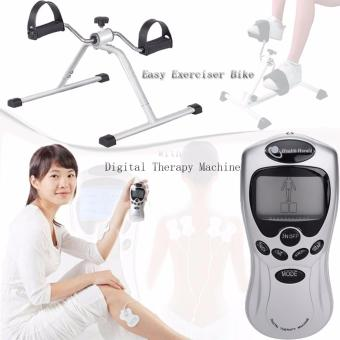 Easy Exercise Bike With Digital Therapy Massage