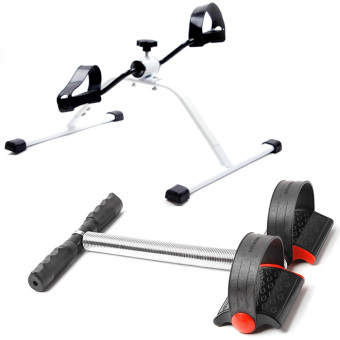 Easy Exerciser (White/Black) With L1013J Tummy Trimmer (Black)