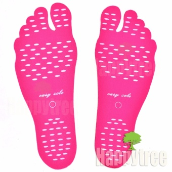 Easy Sole Adhesive Foot Pads Feet Sticker Stick On Soles FlexibleFeet Protection Anti-skid Beach Stealth Shoes - Medium 36-39