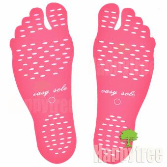 Easy Sole Adhesive Foot Pads Feet Sticker Stick On Soles FlexibleFeet Protection Anti-skid Beach Stealth Shoes - Small 32-35