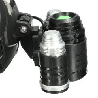 Elfeland 10000LM 3x XM-L2 LED T6 18650 Headlamp Headlight Head Torch Lamp - 5