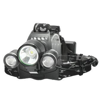 Elfeland 10000LM 3x XM-L2 LED T6 18650 Headlamp Headlight Head Torch Lamp - 2