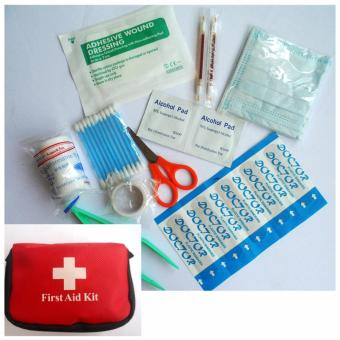 Emergency Survival Kit 10 Items Mini Family Sport Travel Home Medical Bag Outdoor Car First Aid Kit
