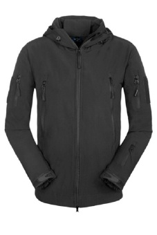 ESDY Soft Shell Tactical Windproof Jacket Black