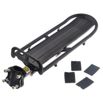 Extendable Aluminum Alloy Bike Rear Seat Post Rack - Intl