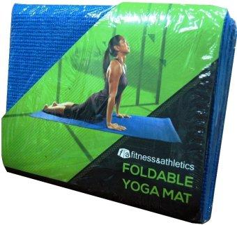 FA Foldable Yoga Mat (Blue)