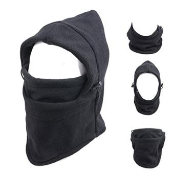 Fashion Multifunction Sports Headwear Warmer Outdoor Full Face Tactical Fleece Hat Balaclava Neckwear Winter Thermal Face Mask Collar Warm Head Windproof Motorcycle Ride Ski Mask Hats for Cycling Hiking Full Face Mask Skiing - intl - 2