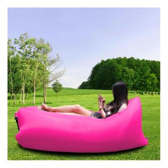 Fast Inflatable Camping Banana Sleeping Bed