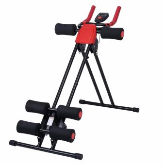 Finether AB Cruncher Abdominal Trainer Glider Machine VERSION 5.0(RED/BLACK)