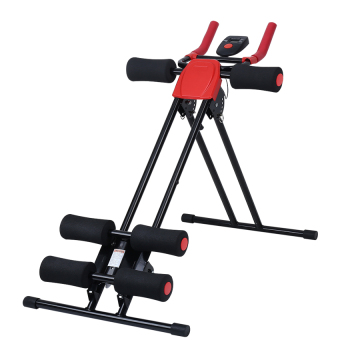 Finether AB Cruncher Abdominal Trainer Glider Machine VERSION5.0(RED/BLACK)