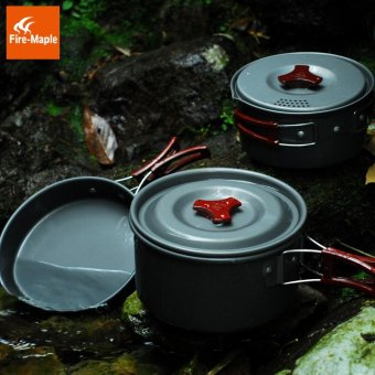 ... Fire Maple Camping Pot Outdoor Cutlery Panelas 2-3 Persons CampCooking Cookware Picnic FMC-