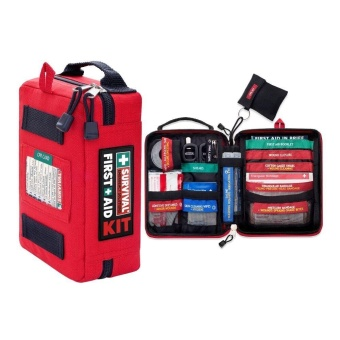 First Aid Kits Survival Gear Medical Trauma Kit Rescue Bag Kit Car Bag Emergency Kits - intl