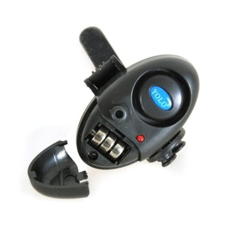 Fish Bite Alarm Finder Sound Alert Running LED Clip On Fishing RodVara De Pesca Fishing Tackle - 5