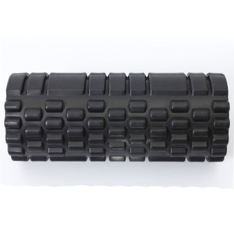 Fitness Direct Foam Roller Trigger Point Textured Massage Yoga Grid Black - picture 4