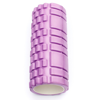 Fitness Direct Foam Roller Trigger Point Textured Massage Yoga Grid Purple - picture 3