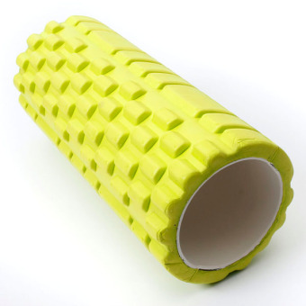 Fitness Direct Foam Roller Trigger Point Textured Massage Yoga Grid Yellow - Intl