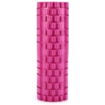 Fitness Floating Point EVA Yoga Foam Roller for Physio Massage Pilates (PINK) - Intl