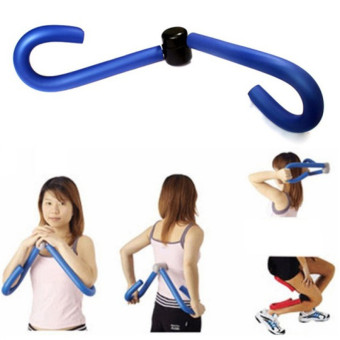 Fitness Thigh Master Muscle Toner Ab Leg Arm Shaper TrimmerExerciser Home Gym,Blue - intl
