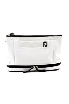 FJ Golf Toiletry Bag (White)