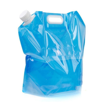 Foldable Camping PE Water Storage Container Carrier 5L (Intl)