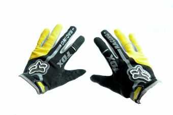 Fortress Motorcycle /Bike Cycling Full Finger Gloves (FF2)