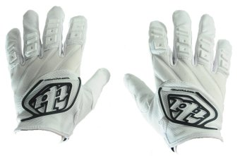 Fortress Motorcycle /Bike Cycling Full Finger Gloves TLD01(White/Black) Price Philippines
