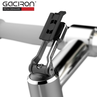 GACIRON Lightweight Phone GPS Handlebar Holder Mount for Bike Bicycle (Black) - intl