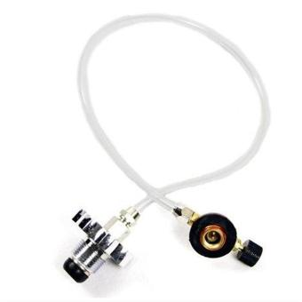Gas Stove Burner Switching Charging Inflatable Valve Adapter for Flat Tank