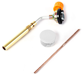 Gas Torch Flamethrower Butane Welding Soldering Twin BrazingLighter for Outdoor Camping Cooking BBQ - (Intl