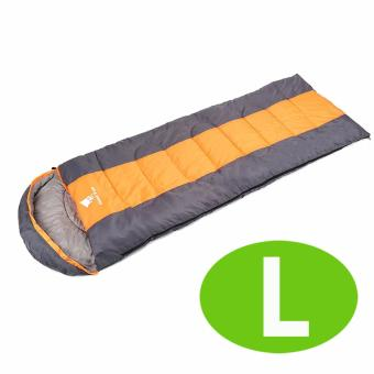 GEERTOP(R) Sleeping Bag Comfort Lightweight Portable - ATTACHABLE -For Camping Hiking Backpacking (5 - 18 ?) L - Orange.