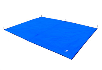 GEERTOP Tent Tarp Mat - 300 x 220 cm Waterproof Oxford FabricGroundSheet Canopy, For 4 to 5 Persons Camping Hiking Picnic -Blue.