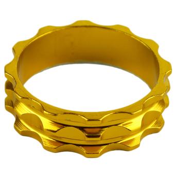 GETEK 10mm Aluminium Bicycle Headset Spacer Golden