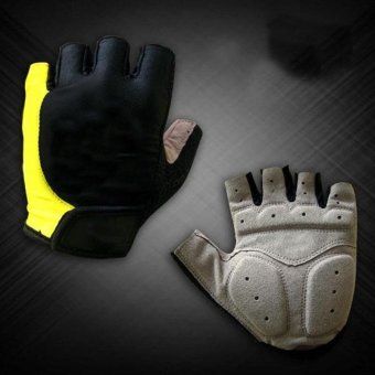 Giant Bicycle Gloves Half Finge Cycling Mountain Bike Sportbreathable - intl
