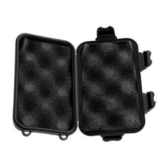 Gracefulvara Outdoor Shockproof Waterproof Airtight Survival Storage Case Container Carry Box (Black) - 3