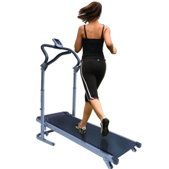 Granmerlen Fold-able Indoors Manual Treadmill (Black) Price Philippines