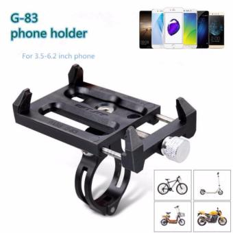 GUB G-83 Anti-Slip Universal Bicycle Bike 3.5-6.2inch Phone HolderMount Bracket For Smart Mobile Cellphone Handlebar Clip Stand -intl Price Philippines