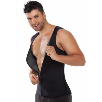GUYUE Slimming Neoprene Vest Hot Sweat Shirt Body Shapers WeightLoss Mens - intl Price Philippines