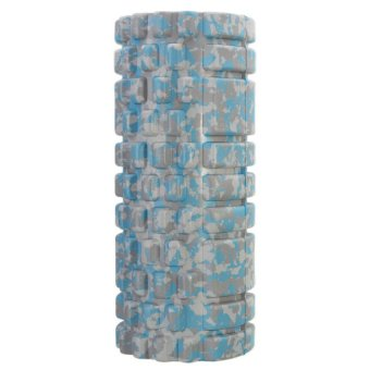 Gym Exercise Fitness Floating Point EVA Yoga Foam Roller Physio Massage Pilates Blue (Intl)