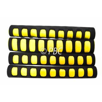 HANDLE GRIP BMX GRAB ON FOAM SET OF 4 YELLOW Price Philippines