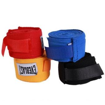 Hang-Qiao 1Pair Boxing Hand Wraps Boxing Bandages Wrist FistPunching Red Price Philippines