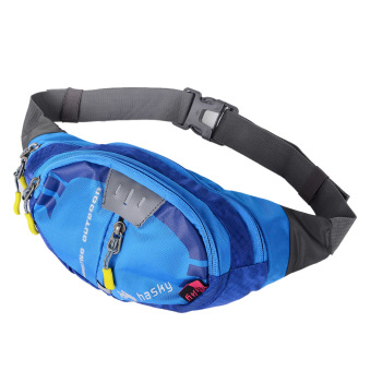 Hasky 2009 Outdoor Sports Water Resistant Waist Bag - Blue (8L)