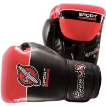 Hayabusa Sport Boxing 8Oz Gloves (Black/Coral)