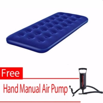 HC New Bestway Inflatable Airbed (Single Size) With Free (HandManual Air Pump)