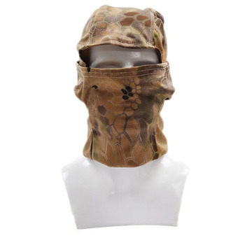 HengSong Head Mask Snake Skin Printing Cycling CS Field Battle Outdoor 3