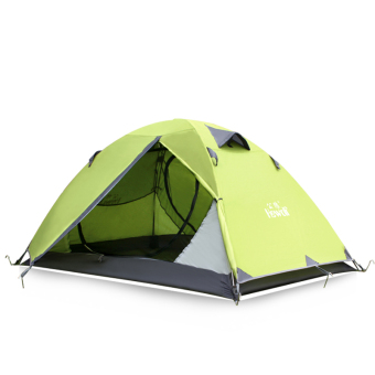 Hewolf Outdoor Waterproof 2 Person Camping Tent with CarryBag(Green) - Intl Price Philippines