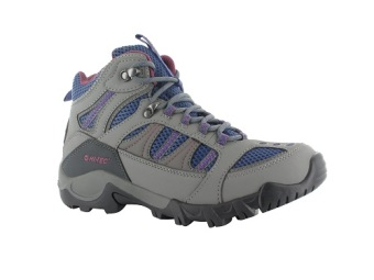 Hi-Tec Women's Bryce II WP (Cool Gray/Marlin/Deep Cobalt)