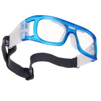 HKS Basketball Soccer Football Sports Protective Elastic Goggles Eye Safety Glasses Blue - Intl - picture 2