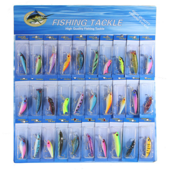 HKS Fishing Lures Set of 30 - INTL