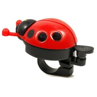 HKS New Bicycle Ladybug Bell Bike Handlebar Ladybird Alarm Horn (Red) outdoor adventure - Intl - picture 1